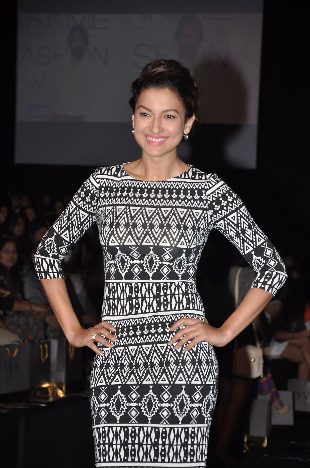 Gauhar khan lakme fashion week 59
