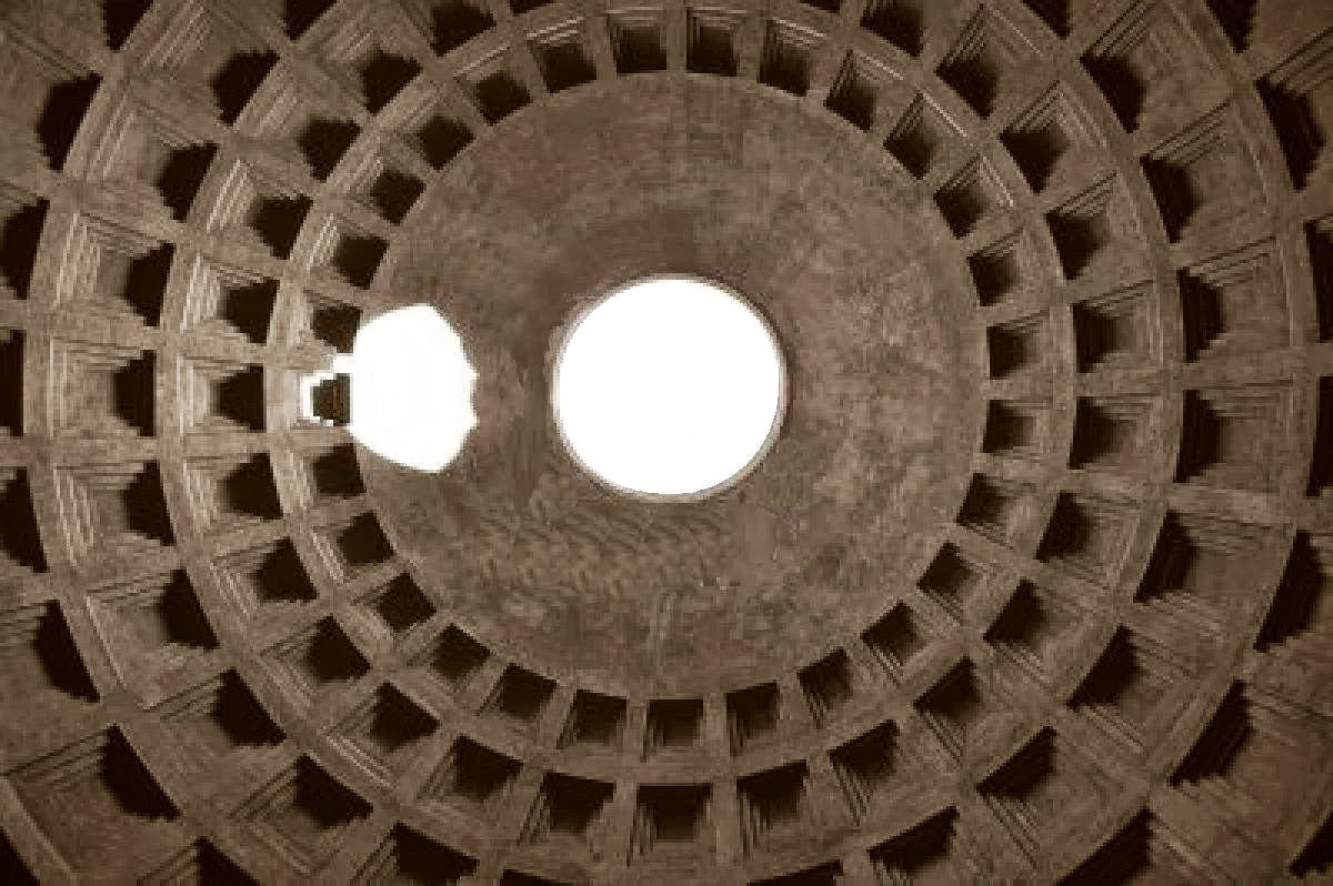 Pantheon looking up