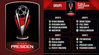 Hasil Drawing Grup Piala Presiden 2015