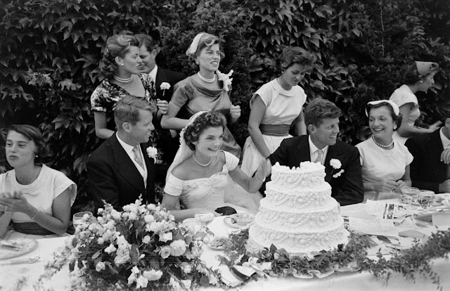 vintage everyday the wedding of john f kennedy and