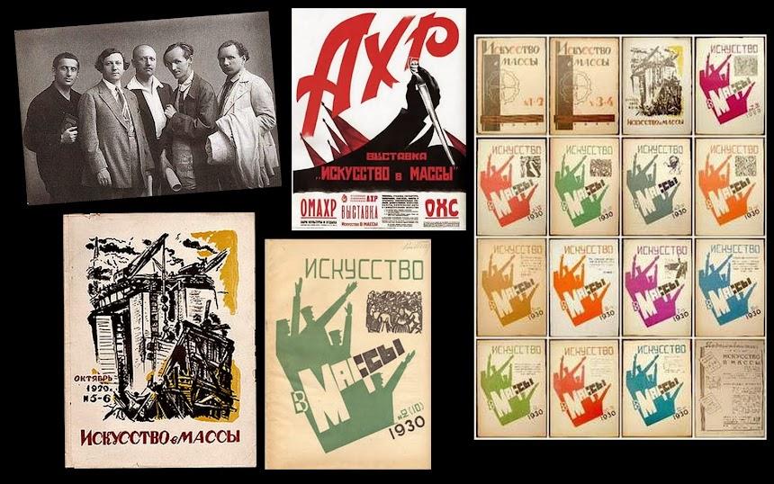 ASSOCIAÇÃO DE ARTISTAS DA RÚSSIA REVOLUCIONÁRIA [AKhRR] E ASSOC. DE ARTE ATIVA REV [AKhR] (1922-32)