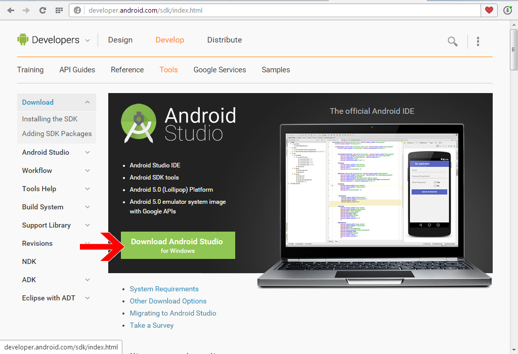 Android Studio - Download - CHIP