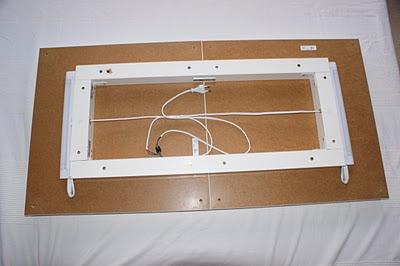 2 mesas lack de ikea aplique de pared decoraci n - Fluorescentes cocina ikea ...