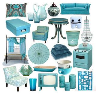 Brilliant Turquoise Interior designs