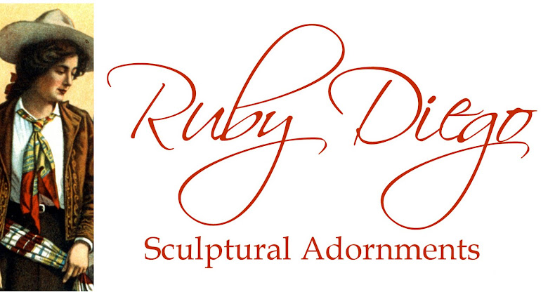 Ruby Diego Handmade Sculptural Jewellery and Adornments
