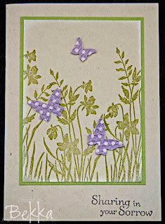 Just Believe Card by UK Stampin' Up! Demonstrator Bekka Prideaux - check out her blog for lots of great ideas