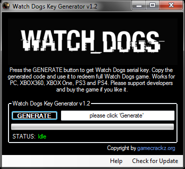 watch dogs reloaded games serial number