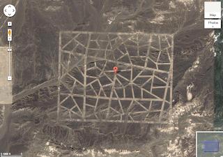 misteriosas construcciones en el desierto de China