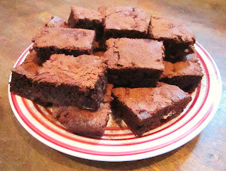 Nut free chocolate brownies