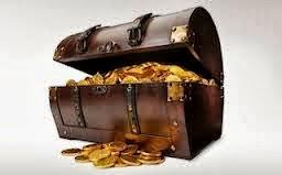 χρυσάφι θησαυρός μπαούλο