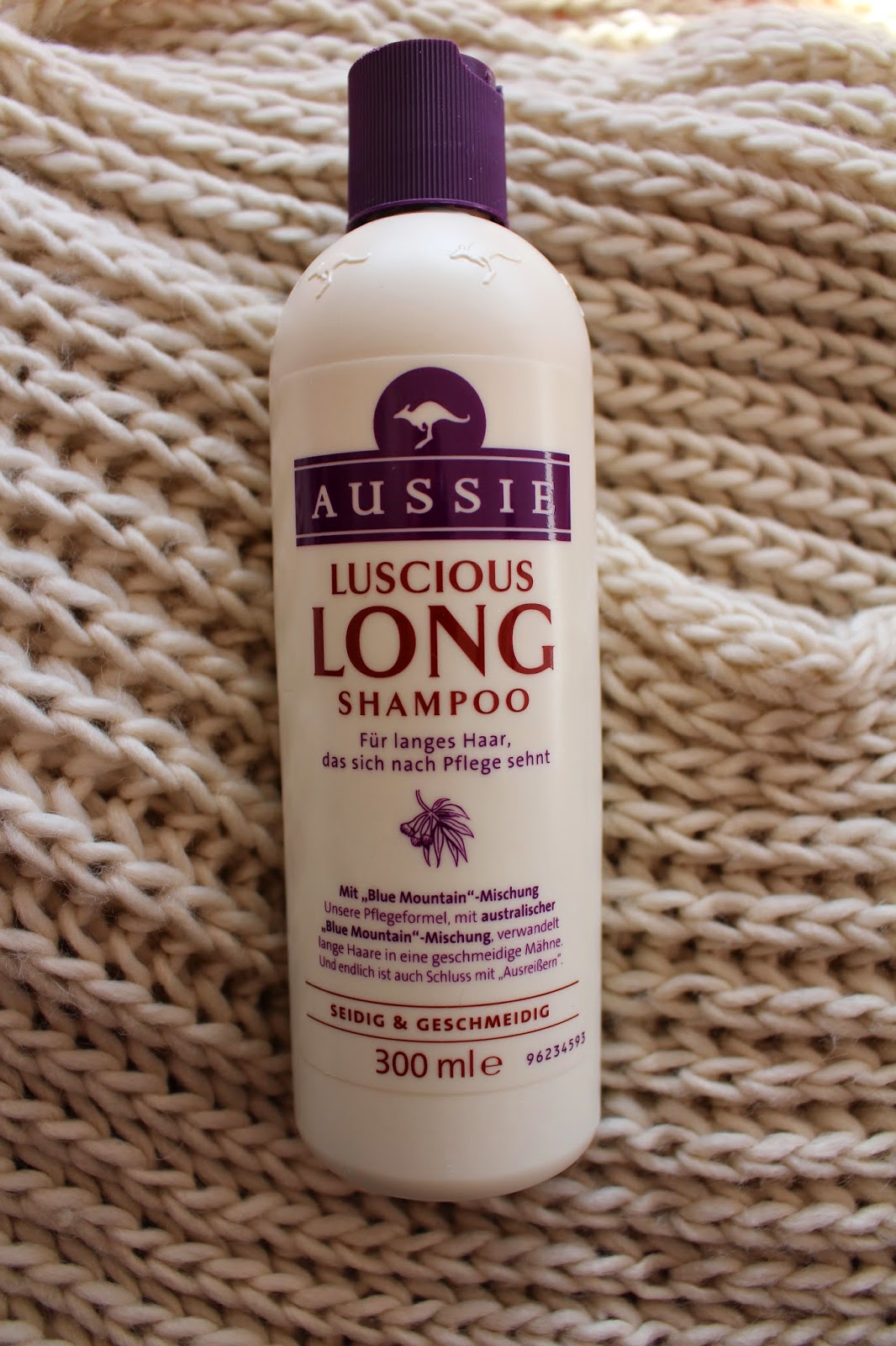 NiNi's Welt: [REVIEW Produkttest] Aussie Luscious Long Shampoo