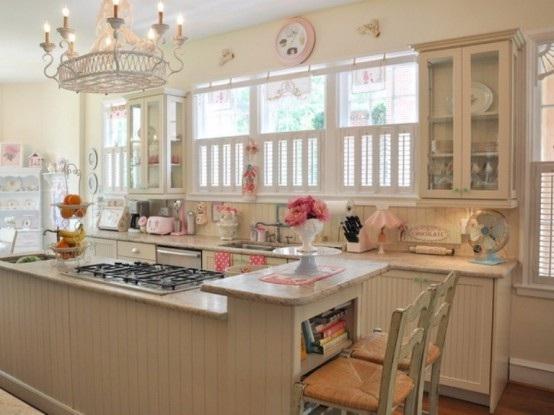 diseo vintage de la cocina ms dulce elegant house design