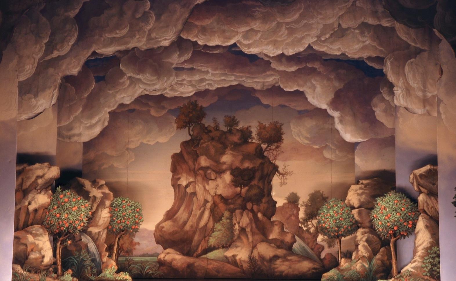 Toiles de decors de theatre gazille eric toiles peintes for Decor de theatre