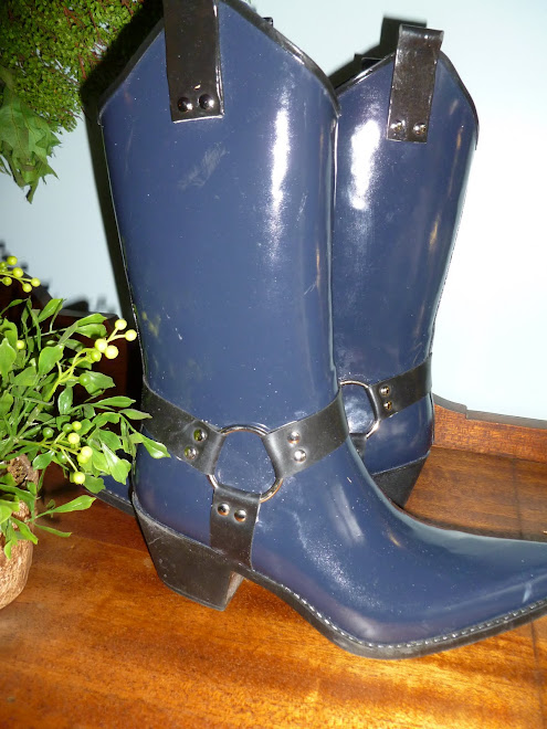 COOL NEW BOOTS FOR WET WEATHER COWGIRLS!