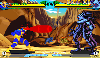 Download Game marvel super heroes vs street fighter PS1 For PC Full Version  ZGASpc