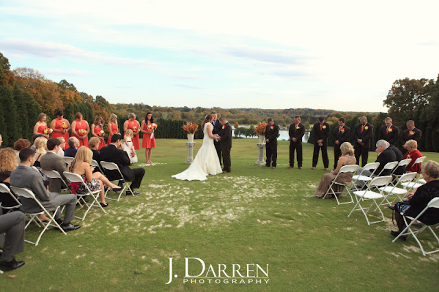 photos of J. Darren Photography at a Bermuda Run Counrty Club Wedding in Bermuda Run North Carolina