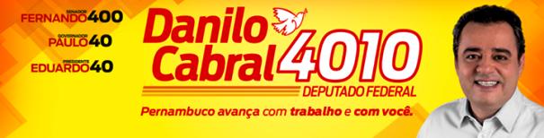 Agenda de Danilo Cabral