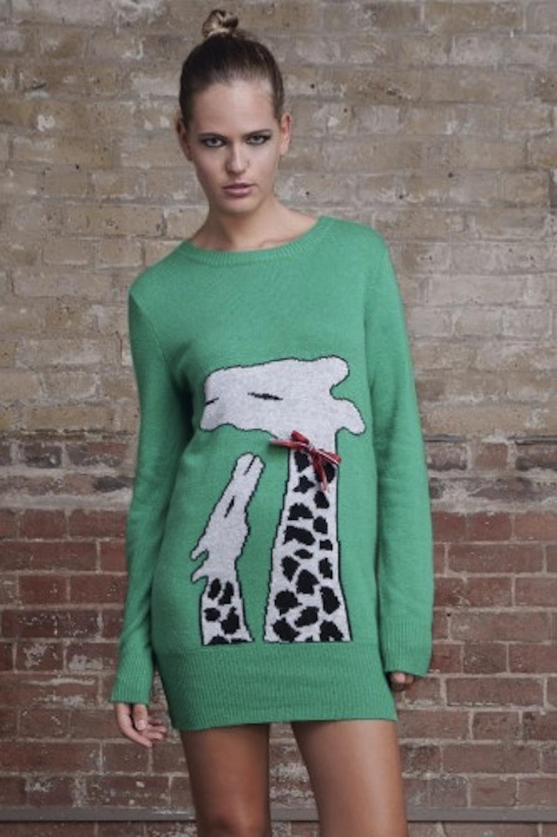 giraffa sweater