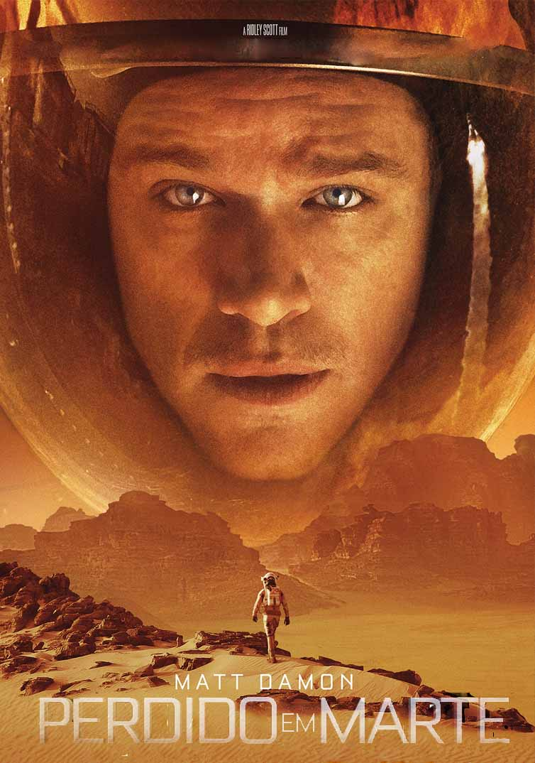 Perdido em Marte Torrent - Blu-ray Rip 4K Dual Áudio (2015)