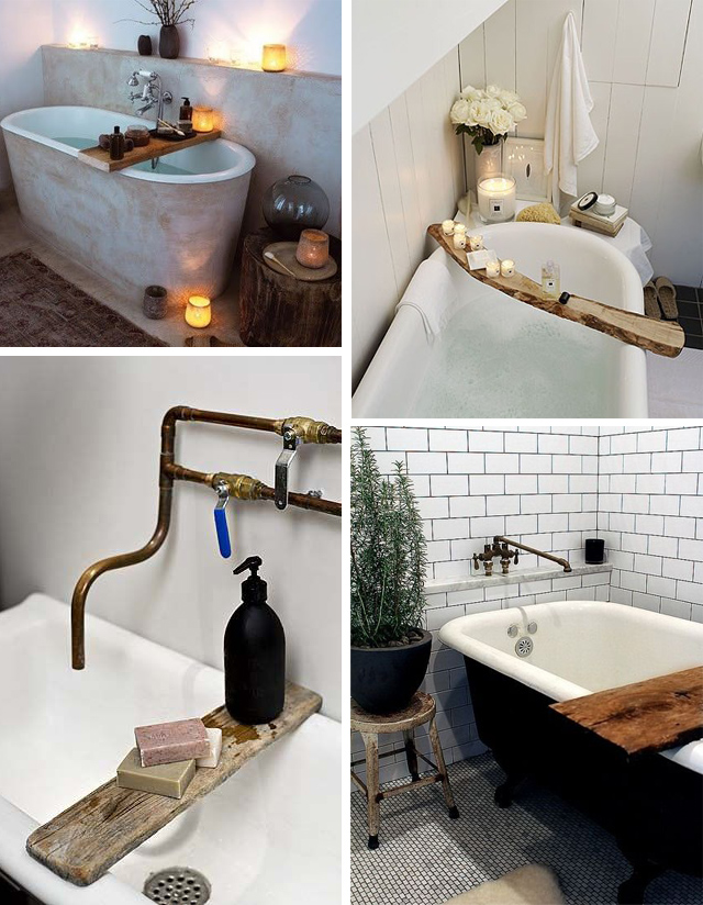 Lovers of mint blog d co boh me et cool lifestyle for Idee deco salle de bain avec baignoire