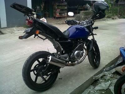 Suzuki Thunder 125 cc touring