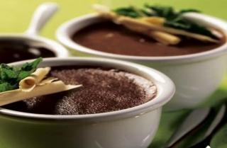 Souffle de Chocolate Helado