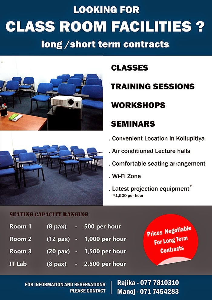 Looking for Class Room Facilities?