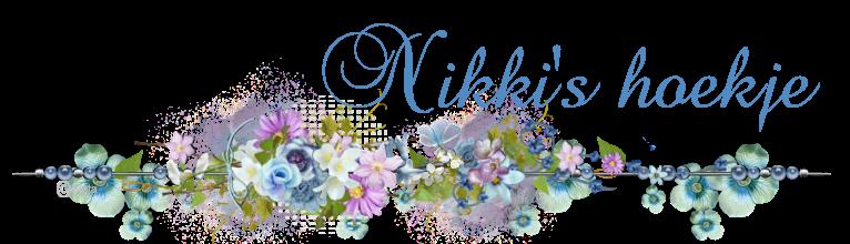 Nikki's knutselhoekje