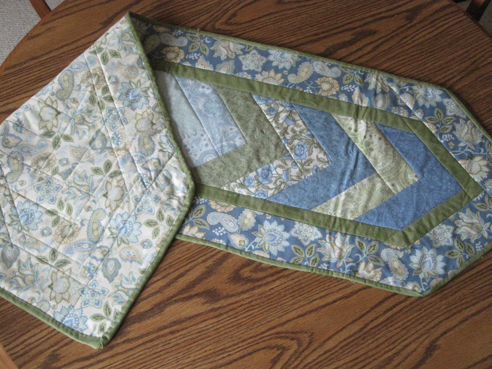 Braid Quilt Pattern Table Runner : Sew Sassy Quilts: Class Project-Braid Table Runner