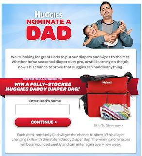 Nominate a Dad Contest