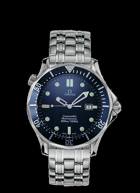 Seamaster Diver 300M con esfera azul
