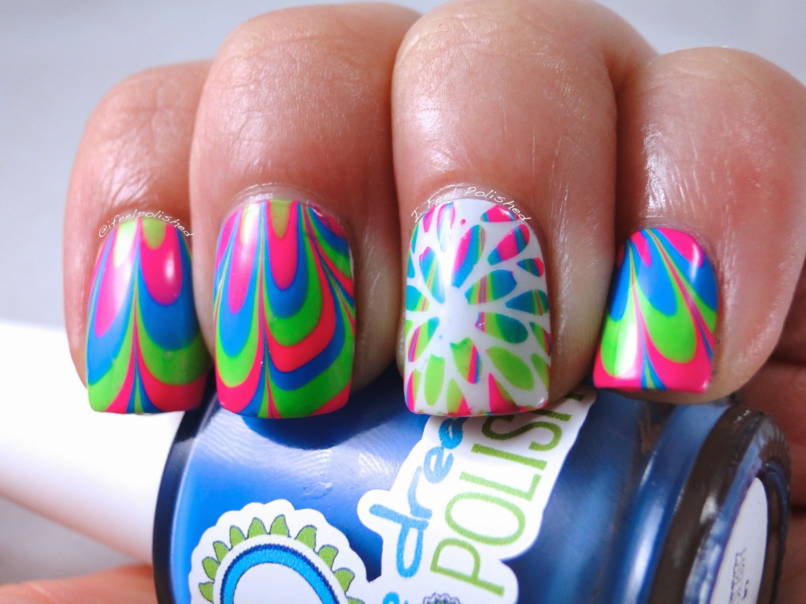 Neon Water Marble Neon Water Marble