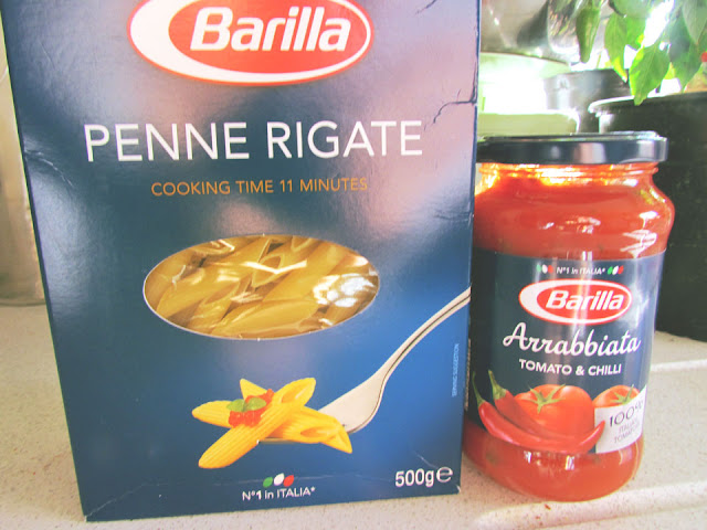 Penne and Arrabbiata