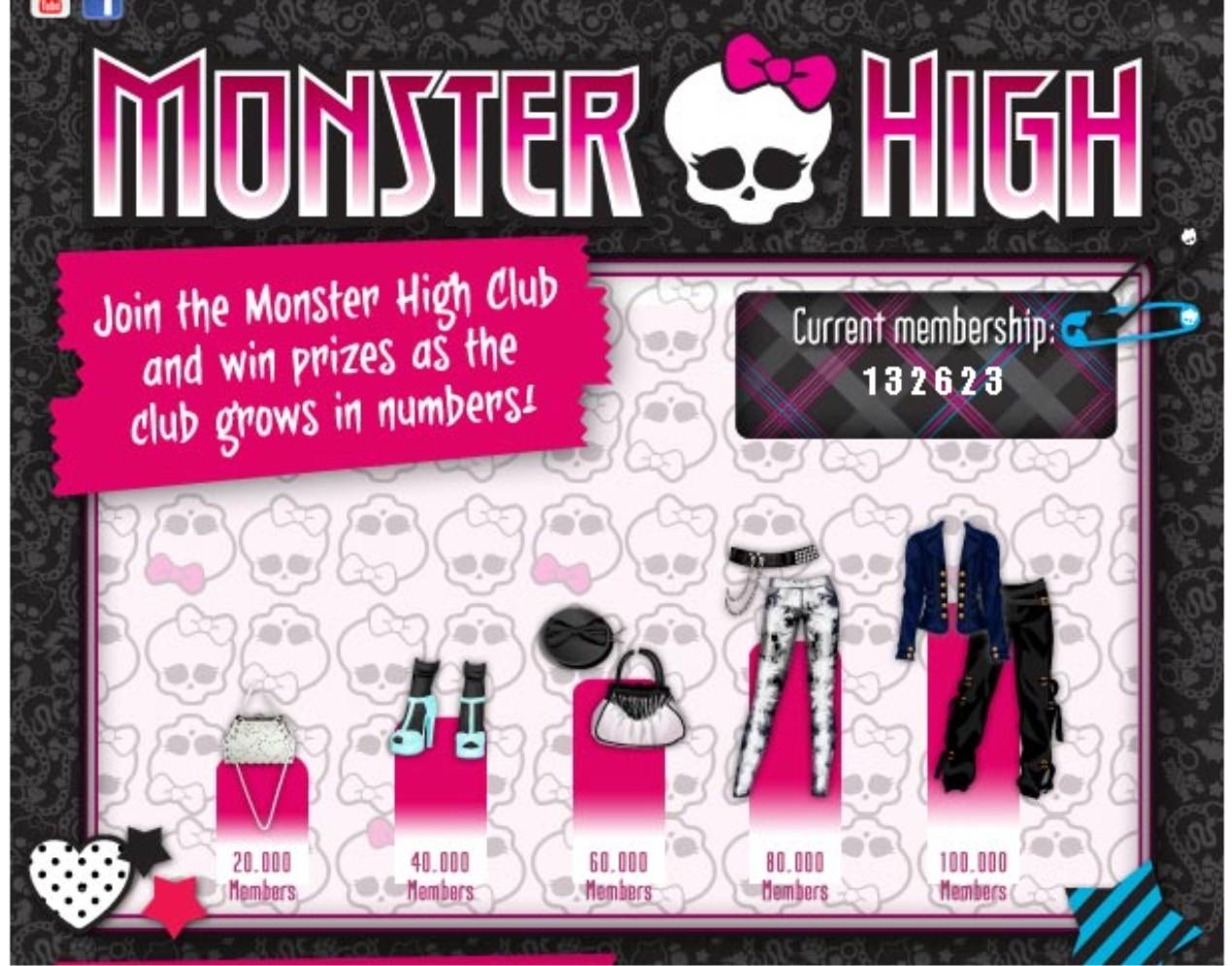 Ropa de Monster High gratis! (2013)