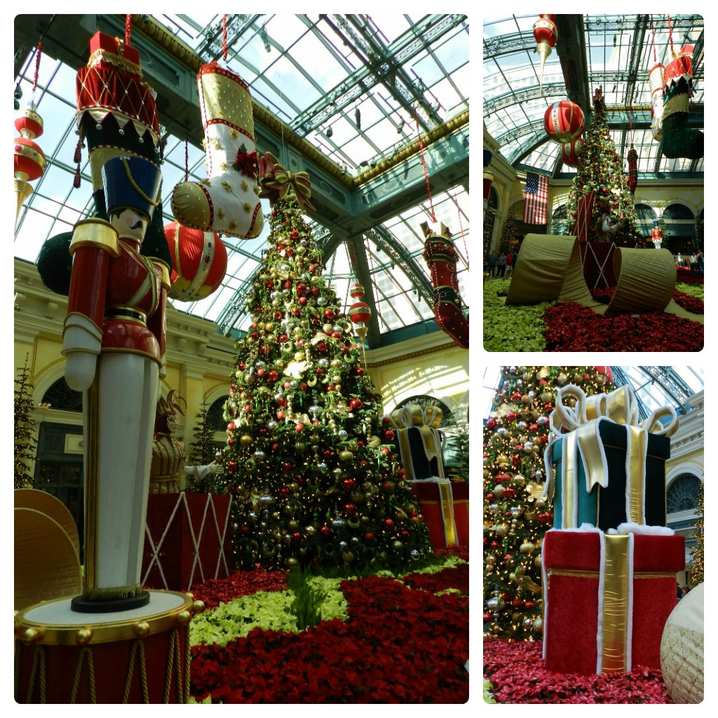 Bead and Needle CHRISTMAS OVERLOAD FROM VEGAS  Bellagio