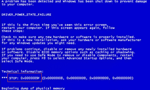 Technology In Life Which Virus Cause Quot Blue Screen Quot Error