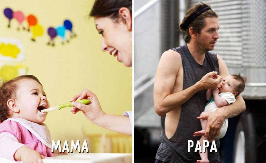 Real Wallpaper 18 Funny Pictures Images Of Mom Vs Dad With Kids