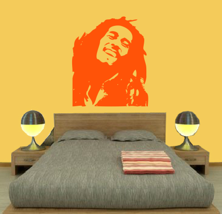 Quekukos vinilo Bob Marley naranja