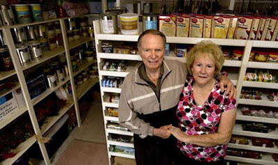Feds Label Bulk Buying of Food a Potential Terrorist Activity food storage couple