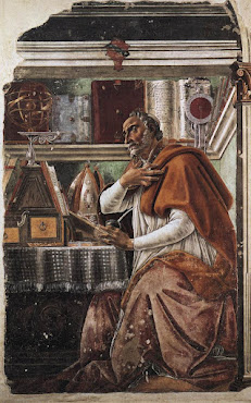 Sandro Botticelli, Santo Agostinho (1480)