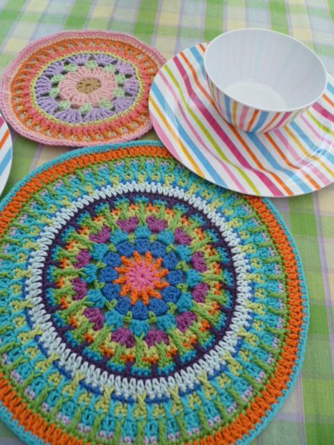 Crochet Patterns For Mandala Yarn : The 8th Gem: A SECOND MANDALA....