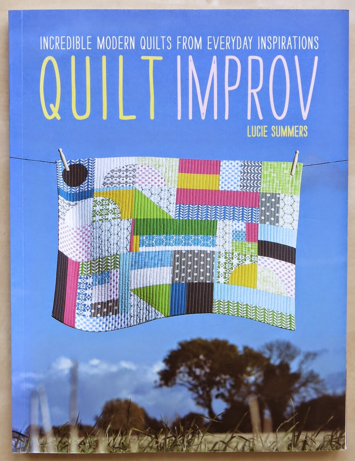 "Lucie Summers book ""Quilt Improv"""