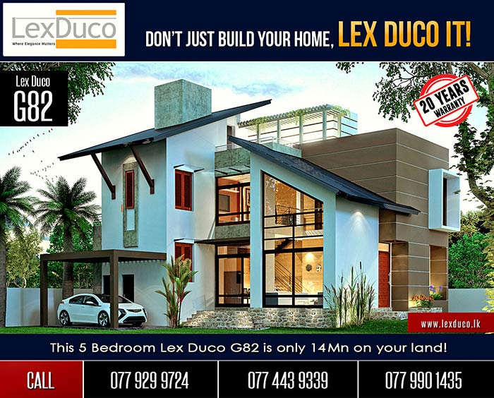 Lex Duco (Pvt) Ltd is a group of professionals that includes Chartered Architects, Chartered Structural Engineers, Quantity Surveyors, Value Engineers, Construction Professionals and Project Managers. These professionals are gathered under one roof to design an elegant home for your requirements and to build your home within your budget while maintaining the highest quality standards.