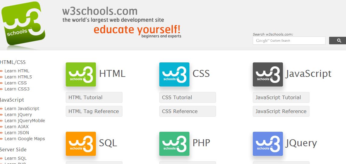 SITUS BELAJAR HTML CSS UNTUK PEMULA - Apradiz Blog