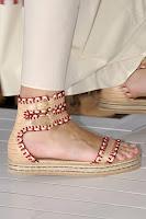 Сламени сандали на равна подметка на Tommy Hilfiger