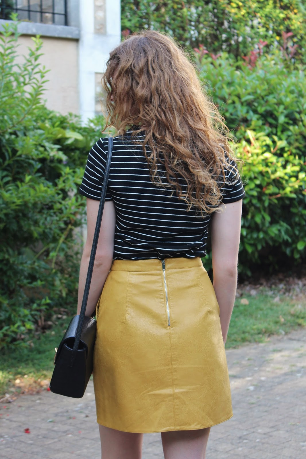 Faux Leather Skirt | THE TWINS' WARDROBE