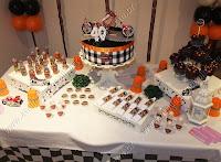mesa da festa decorada