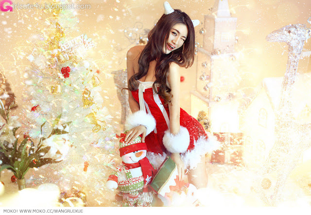 3 Xi Ran - Jingle Bells-very cute asian girl-girlcute4u.blogspot.com