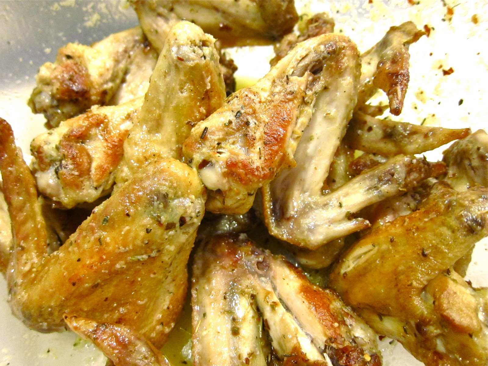 Baked Parmesan Garlic Chicken Wings Recipes — Dishmaps