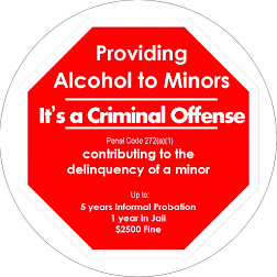 In Pomona, providing alcohol to minors is a criminal offense